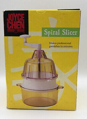 Joyce Chen Spiral Slicer #51-0662 Makes Professional Garnishes In Minutes