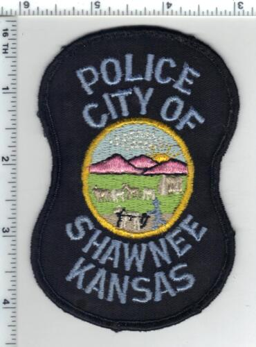 City of Shawnee Police (Kansas) uniform take-off patch from the 1980