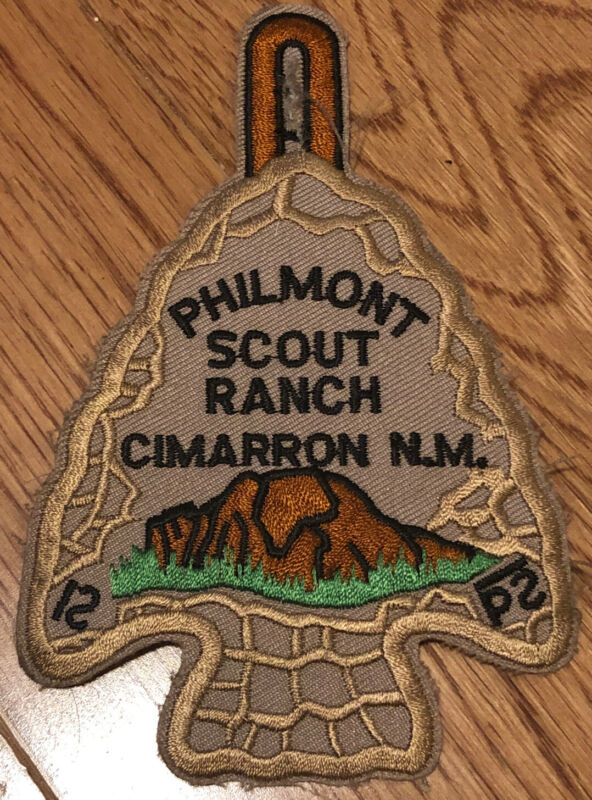Boy Scout Philmont Scout Ranch RESTRICTED Arrowhead Patch BSA