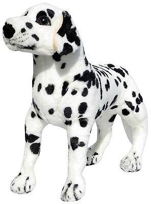 PLÜSCHTIER HUND PLÜSCH DALMATINER - stehend - 60 cm - NEU - Plüschhund Stoffhund