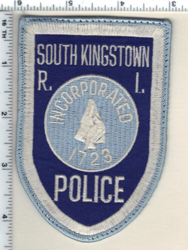 South Kingstown Police (Rhode Island) 1st Issue Uniform Take-Off Shoulder Patch