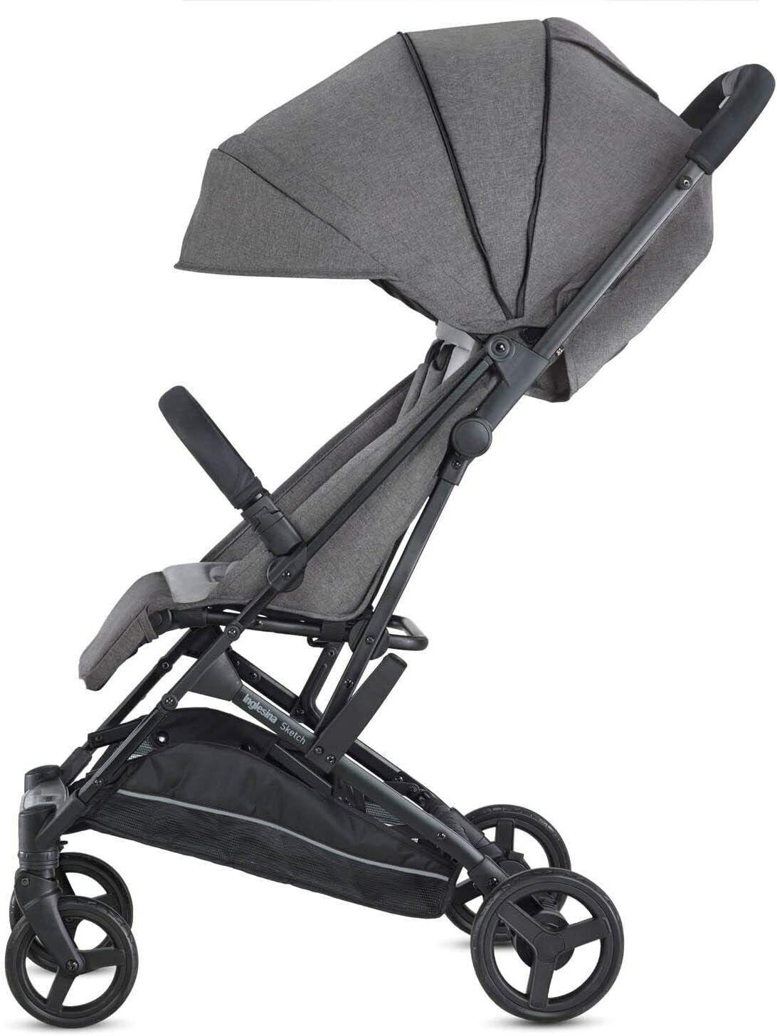 Inglesina Kinderwagen, leicht und kompakt Única grau