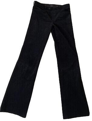 Joseph High Waisted Navy Corduroy Trousers