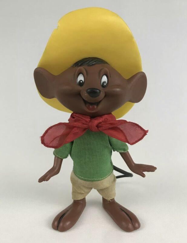 "Vintage 1968 Speedy Gonzales Dakin Looney Tunes 7.5"" Rubber Figure Hong Kong"