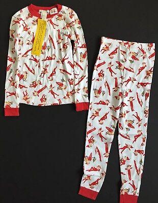Kids Elf Pajamas (POTTERY BARN KIDS ELF ON THE SHELF COTTON PAJAMAS *PHIL* SIZE 6 NEW)