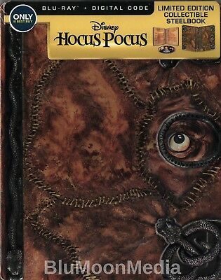 Hocus Pocus BLU-RAY Steelbook & Digital code Best Buy Anniversary Edition NEW](Best Halloween Comedy Movies)