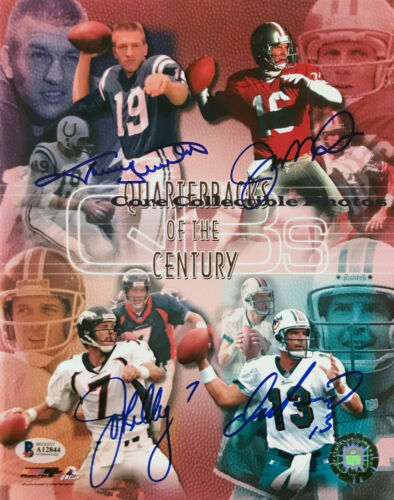 Quarterbacks of the Century Autographed Signed 8x10 Photo