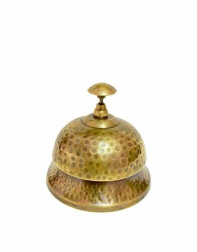 Antique Brass Service Desk Bell,Classic Nautical Calling Bell, Best for gift