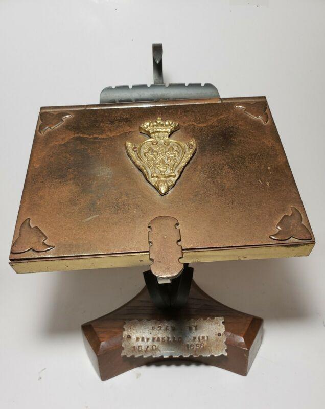 Antique rare 16th Century Writing Stand desk used by Raffaello Pini (1570-1656)