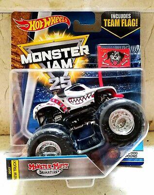 Hot Wheels MONSTER JAM MONSTER MUTT DALMATIAN DALMATA Import.USA  segunda mano  El Ejido
