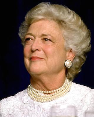 First Lady Barbara Bush   8X10 Photo  Cc401
