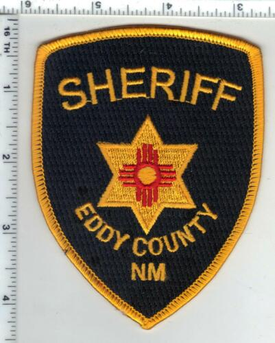 Eddy County Sheriff (New Mexico) 4th Issue Shoulder Patch