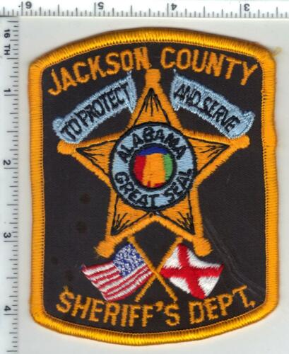 Jackson County Sheriff (Alabama) 3rd Issue Shoulder Patch