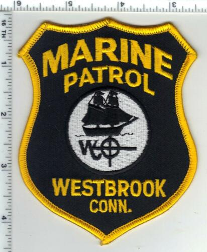 Westbrook Police (Connecticut) 1st Issue Marine Patrol Shoulder Patch