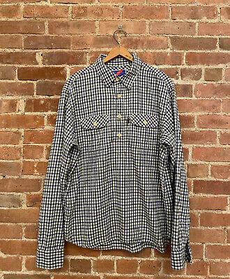 Best Made Co. Men's Work Shirt, Thick Cotton Flannel Sz Large (Best Mens Flannel Shirts)