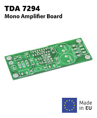 High Quality 100W Pro TDA7294 Mono Audio Power Amp Amplifier Board AC PCB Only High Quality Mono Power Amplifier