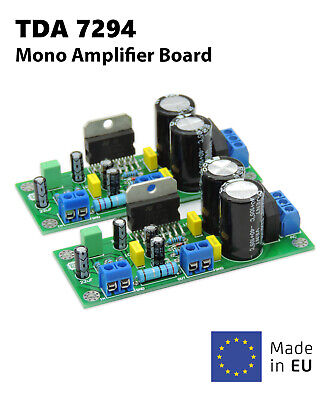 2pcs High Quality 100W Pro TDA7294 Mono Audio Power Amplifier Board AC Assembled High Quality Mono Power Amplifier