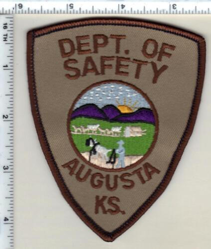 Augusta Dept. of Safety (Kansas) Shoulder Patch - new from 1990