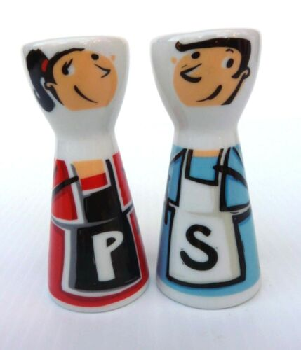 Ritzenhoff Mr Salt & Mrs Pepper Designed by Stephanie Roehe Shakers Rare Collect