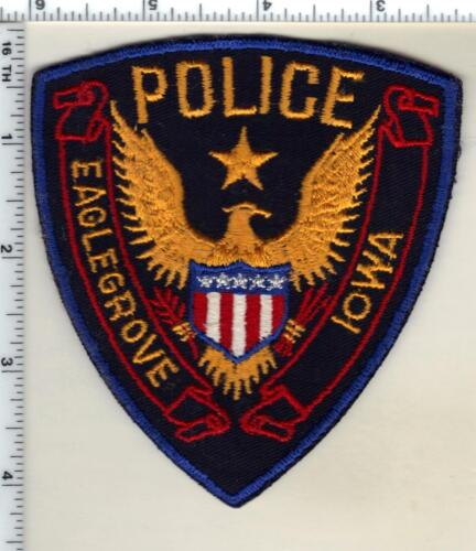 Eaglegrove Police (Iowa)  Shoulder Patch - new from the early 1980