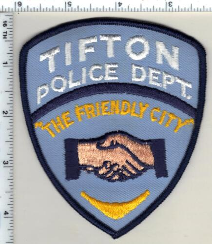 Tifton Police (Georgia) Shoulder Patch - new from 1985