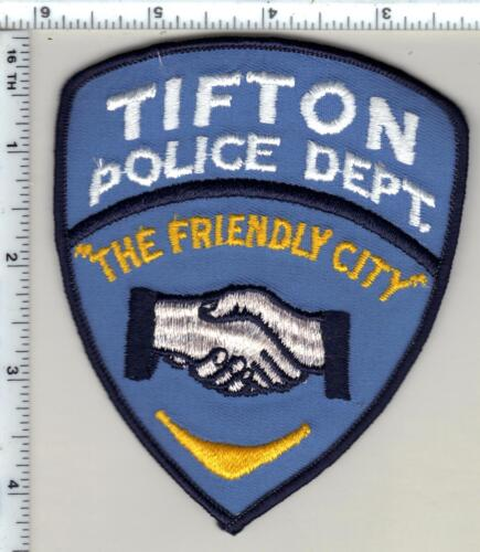 Tifton Police (Georgia)  Shoulder Patch - new from 1990