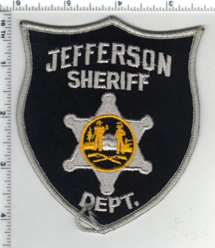 Jefferson Sheriff Dept. (West Virginia) 5th Issue Shoulder Patch