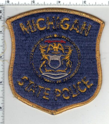 State Police (Michigan) Uniform Take-Off Shoulder Patch 1980