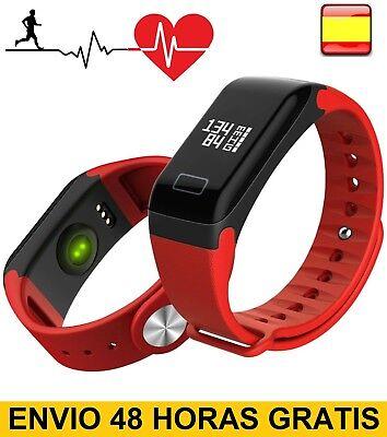 Pulsera inteligente de actividad smart watch pulsometro pasos kalorias multifunc