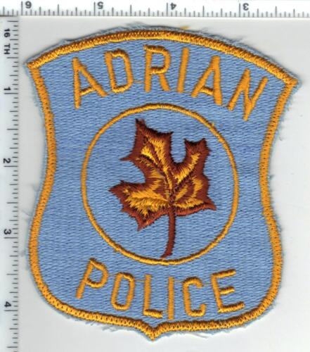 Adrian Police (Michigan) Uniform Take-Off Shoulder Patch from the Early 1980