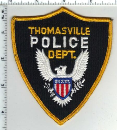 Thomasville Police (Alabama) Shoulder Patch from the 1980