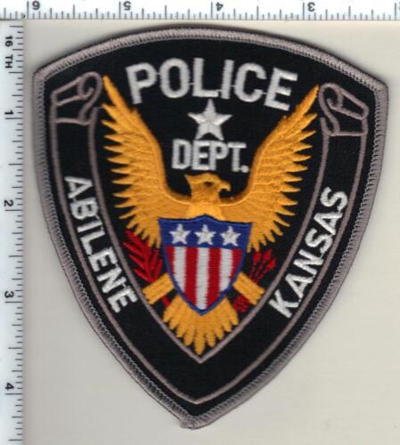 Abilene Police (Kansas) Shoulder Patch - new from 1997