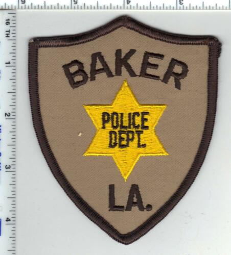 Baker Police Department (Louisiana) Shoulder Patch from the 1980