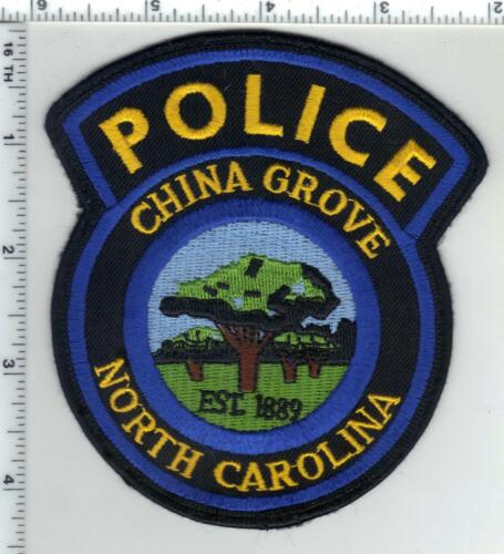 China Grove Police (North Carolina) 2nd Issue Uniform Take-Off Patch