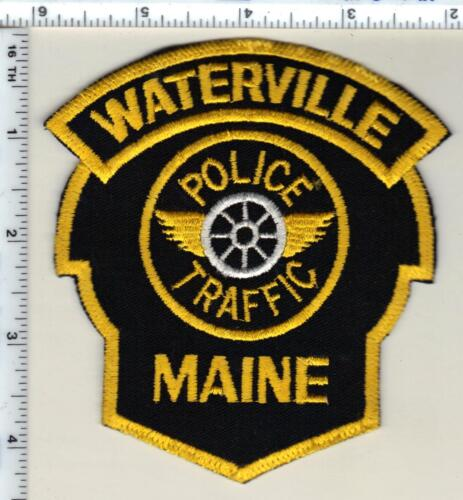 Waterville Traffic Police (Maine) Shoulder Patch - new from 1992