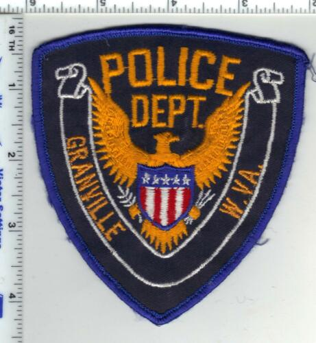granville Police (West Virginia) 1st Issue Shoulder Patch