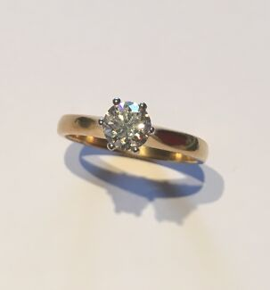 Simple but elegant diamond ring Lota Brisbane South East Preview