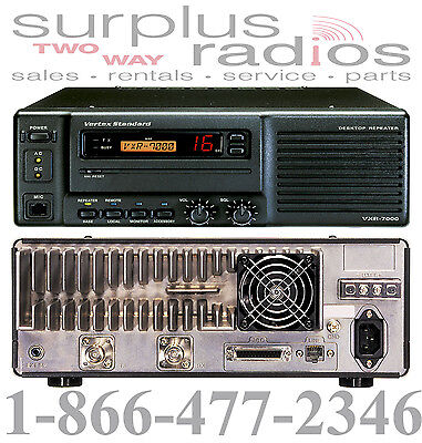 Vertex Vxr 7000 Vhf 136 150mhz 50w 16ch Repeater Base