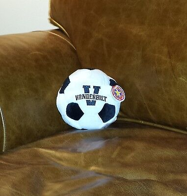 VANDERBILT COMMODORES STUFFED PLUSH SOCCER BALL 4