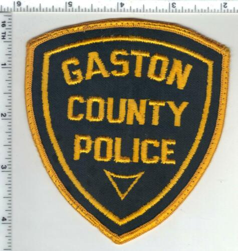 Gaston County Sheriff (North Carolina) 1st Issue Uniform Take-Off Patch