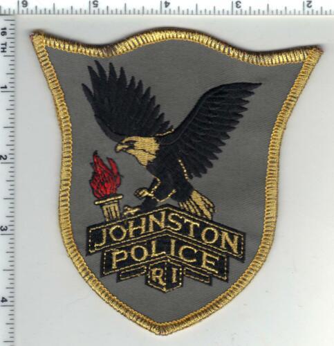 Johnston Police (Rhode Island) 3rd Issue Gold Bullion Shoulder Patch