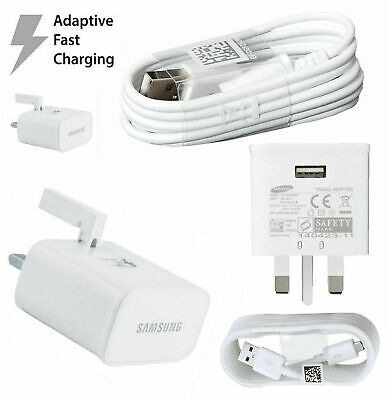 Samsung Fast Charger Plug & USB Data Cable For Galaxy J4 J4+...