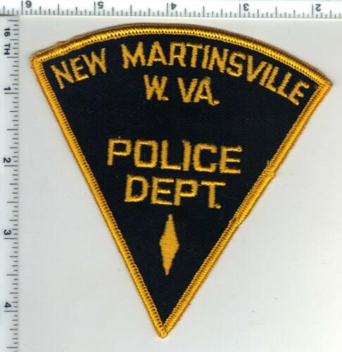 New Martinsville Police (West Virginia) 1st Issue Shoulder Patch