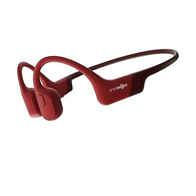 AfterShokz Aeropex Solar Red Waterproof Conduction Headphones AfterShockz Air