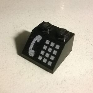 LEGO-3039p12-Slope-Brick-45-2-x-2-White-Phone-4554-6422-6549-6522-4031-2150