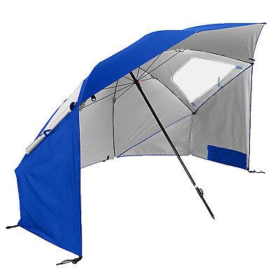 Sport-Brella Super-Brella 8-Foot Portable Sun Shelter Weather Umbrella, Blue