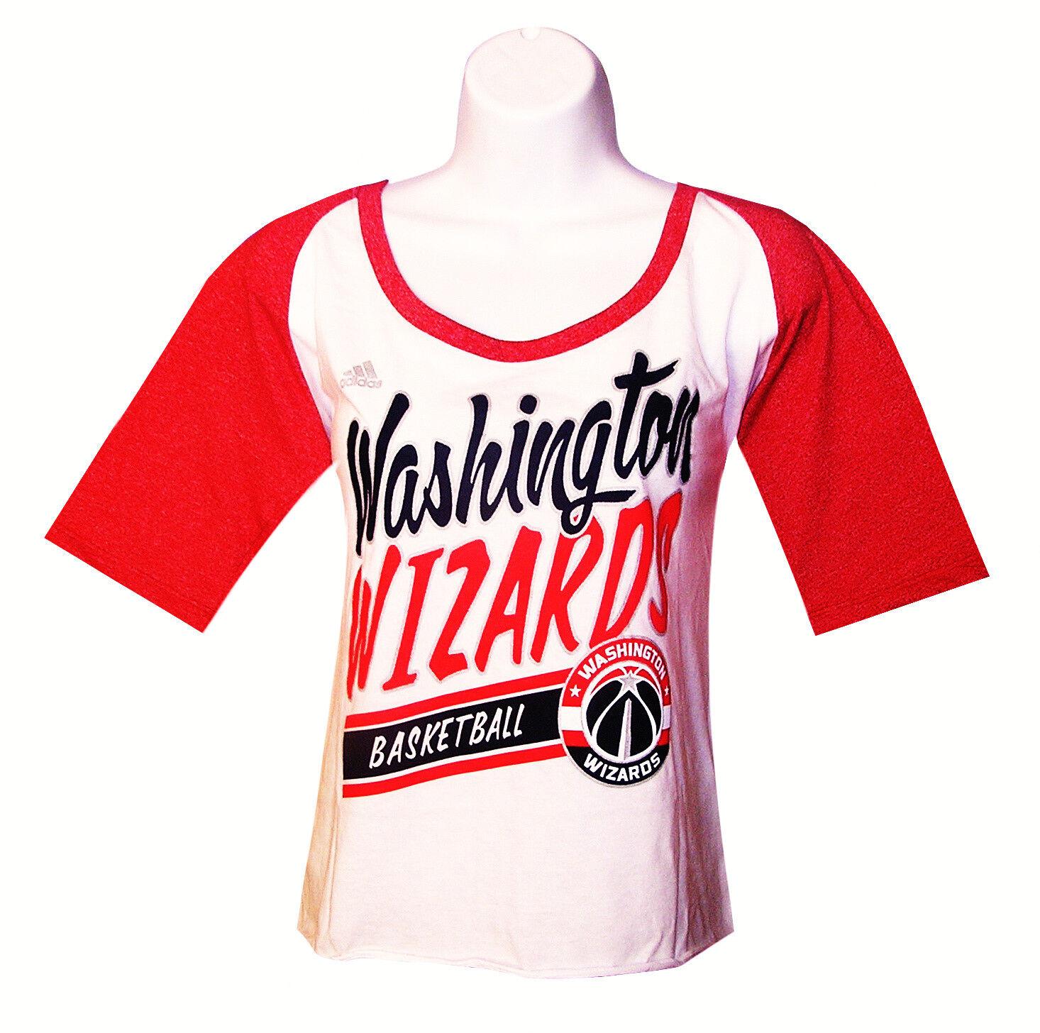 Nba Womens Apparel - Washington Wizards Adidas NBA Team Tee