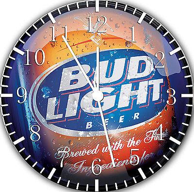 Beer 10 Wall Clock (Bud Light Beer wall Clock 10