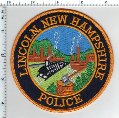 Lincoln Police (New Hampshire)  Shoulder Patch  - new from the 1990