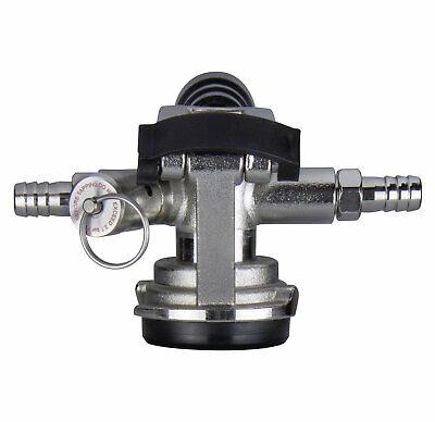 Kegco Kt41d-lp Low Profile D System Keg Tap Coupler